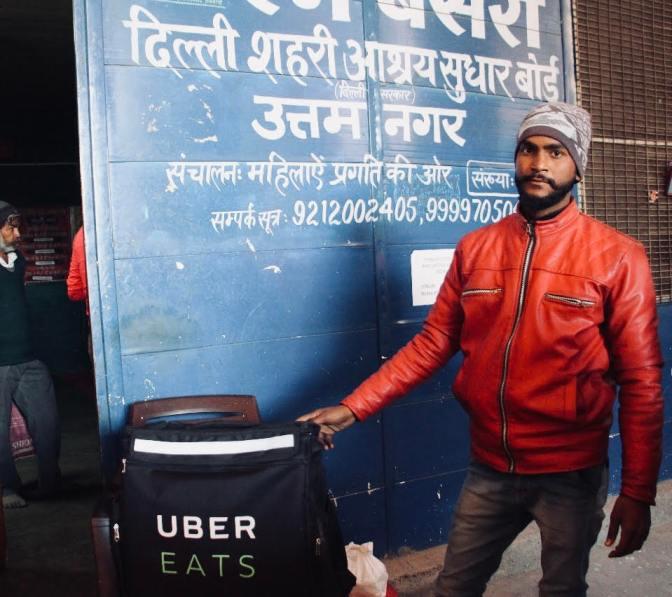 UberEATS X Feeding India